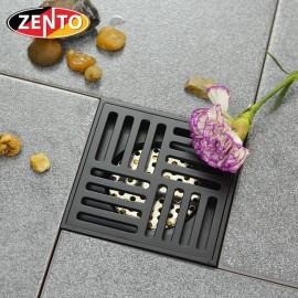 Thoát sàn chống mùi Black series Zento ZT572-1B (120x120mm)